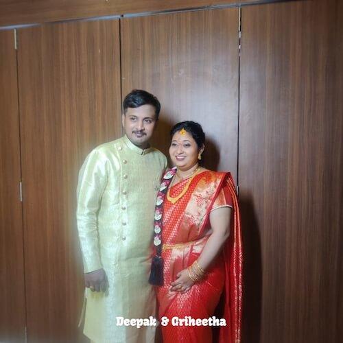 Deepak & Griheetha