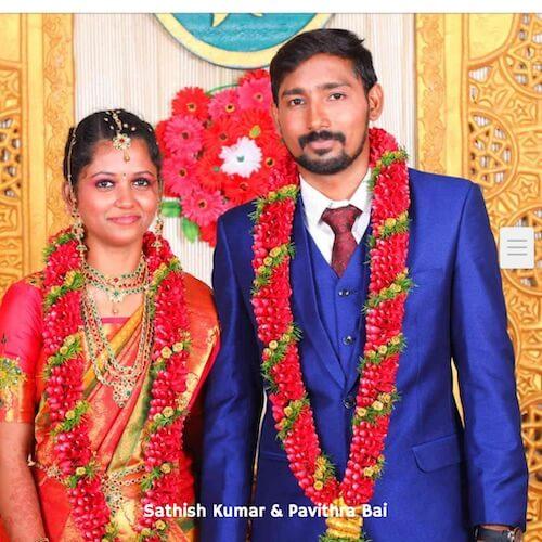 Sathish Kumar & Pavithra Bai